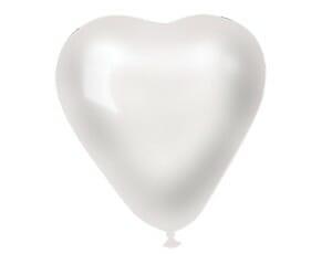 Шар Сердце Металлик