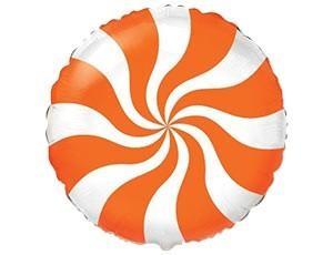 Шар Конфета Оранжевая