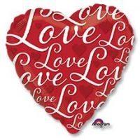 LOVE Сердце красное