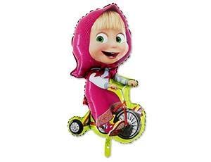 Маша на велосипеде