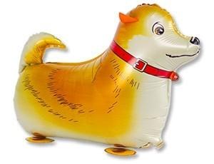 Ходячий воздушный шар Собака рыжая