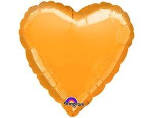 Сердце Металлик Gold
