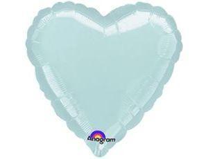 Сердце Металлик Silver