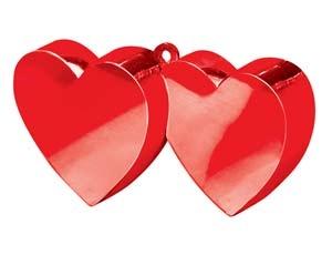 Два сердца (красные)