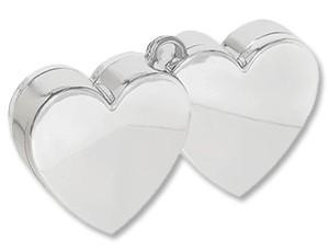 Два сердца (серебро)