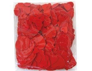 Конфетти бум «Сердца красные»