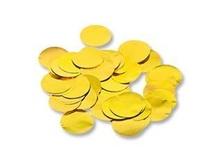 Конфетти «Круги Золото» 2см