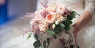 Свадебный букет для Невесты - Рака