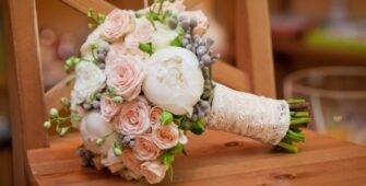 Свадебный букет для Невесты - Льва